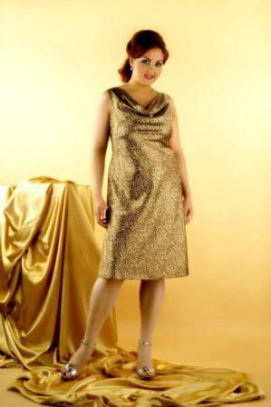 платья офисные для полных